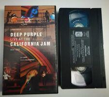 VHS DEEP PURPLE - LIVE AT CALIFORNIA JAM [CCV]