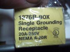 EAGLE    1876B   20 AMP  250  VOLT  3 BLADE