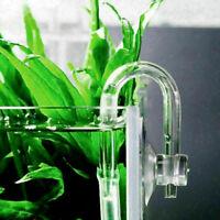 U förmige Glasrohrbogen Acrylrohre für Aquarium Co2 System Diffusor Neu Bes W5G1