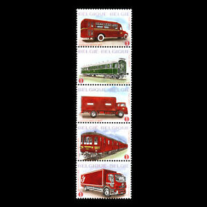 Belgium 2010 - Post in Motion Trucks Trains - Sc 2457a MNH