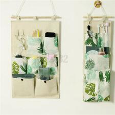 3/7 Pockets Wall Door Hanging Storage Bag Organizer Wardrobe Closet  + *
