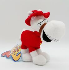 """Rocky and Bullwinkle & Friends Horse 7"""" Plush Toy 2000 Stuffins CVS NWT"""