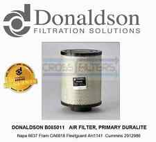 DONALDSON B085011 Air Filter - Napa 6637 Fram CA6818 Fleetguard AH1141 -2912986