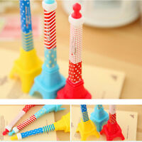1x Eiffel Tower Stereo Tower creative stationery design ballpoint pen liaFFB