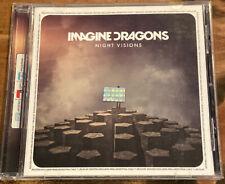 "Imagine Dragons ""Night Visions"" CD | 2013 Universal ARGENTINA IMPORT"