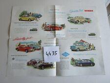 N° 4435  : dépliant gamme MORRIS.MG.RILEY.WOLSELEY.english text 1959