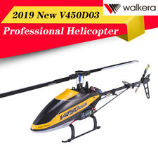 2019 New Walkera V450D03 6CH 3D Fly 6-Axis Single Blade RC Helicopter+US Plug