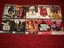 Rue Morgue Lot Of 19 Gory Horror Magazines! Evil Dead, Father'S Day & More!