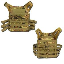 GILET TATTICO SOFTAIR MOLLE JPC VEGETATO - EXAGON [EX-V390TC]	jump plate carrier