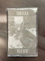 Nirvana Bleach BLACK Cassette Tape [1st album Kurt Cobain About a Girl] NEW
