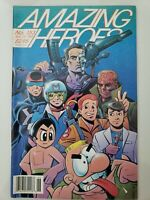 AMAZING HEROES MAGAZINE #153 Nov 1988 KEN STEACY ORIGINAL NOW COVER! NEWSSTAND!