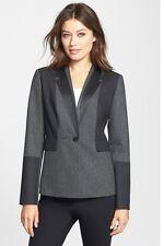 Classiques Entier 'Jesi' Colorblock Flannel Jacket. Size 6***NEW***$298***