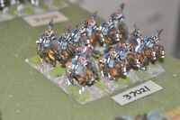 25mm napoleonic / french - cuirassiers 12 figures - cav (37021)