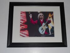 "Framed Tom Petty & Guitar 2017 40th Anniversary Tour Print Poster 14"" by 17"" #2"