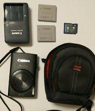 Canon PowerShot ELPH 310 HS 12.1MP Digital Camera - Black TESTED + Accessories