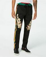 Reason Men's Dragons Classic-Fit Embroidered Pants