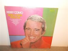 * Perry Como . And I Love You So . Shrink Wrap . Near Mint . LP