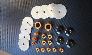 Go kart washer kit Assorted c/sunk flat collars alloy kit SUIT ARROW CRG PCR OTK