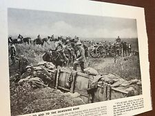 m8-4 ephemera 1938 ww1 picture 1917 british field battery boesinghe