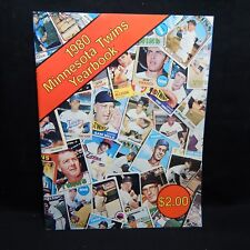 1980 MINNESOTA TWINS YEARBOOK