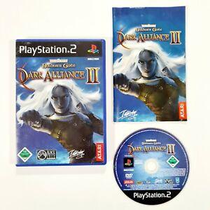 SONY PlayStation 2 BALDUR'S GATE DARK ALLIANCE II dt Koop Action Rollenspiel/RPG