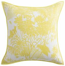 NEW Florence Broadhurst Shadow Floral Cushion Cover Yellow 55CM