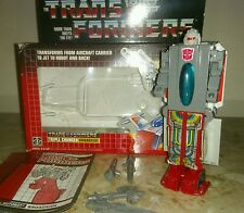 Hasbro Vintage Transformers G1 Broadside 100% complete with box