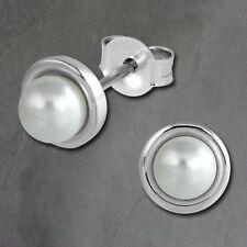 Echte Perlen-Ohrschmuck im Ohrstecker-Stil mit Schönheits