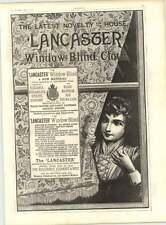 1887 LANCASTER Finestra Cieca Panno Novità laititz St James'S RUM