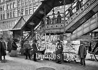 New York City  THe Gilded Age Downtown Manhattan 1906 Vintage photo