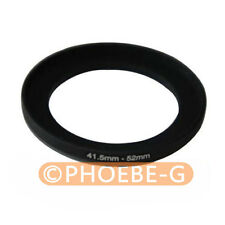 41.5mm-52mm 41.5-52 mm 41.5 to 52 Step Up Filter Ring Adapter