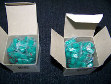 Xtra Seal Valve Stem Green Cap with Grommet Box of 100 2 Boxes New