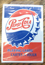 Pepsi Cola Soda Retro Bottle Cap Playing Cards New Sealed Deck