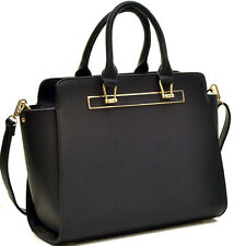 New Dasein Womens Handbags Leather Satchels Tote Shoulder Bag Designer Purse