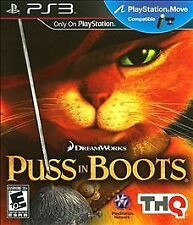 BRAND NEW Sealed Puss in Boots (Sony PlayStation 3, 2011)