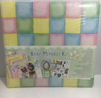 Baby Memories Kit 12 x 12 Baby Album Kit Scrapbook New
