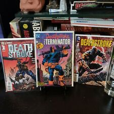 Deathstroke The Terminator #1  Lot.First Print. VF+, NM copies.  See pictures