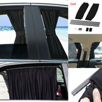 2pcs Car Sun Shade Side Window Curtain Auto Foldable UV Protection Accessories
