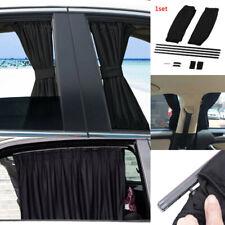 2pcs Car Sun Shade Side Window Curtain Auto Foldable UV Protection Accessories