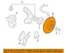 GM OEM Front Brake-Disc Rotor 19213926