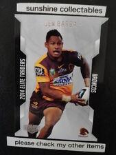 Ben Barba Brisbane Broncos NRL & Rugby League Trading Cards