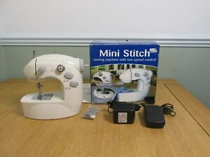 Easy / Mini Stitch Lightweight Portable Mini Sewing Machine Colour White
