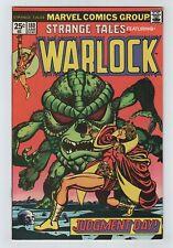 Marvel 1975 STRANGE TALES No. 180 VF/NM 9.0 Starlin Warlock & 1st Gamora (GOTG)