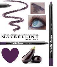 Deep Purple Eyeliner Crayon Pencil Maybelline Master Drama aubergine dark purple