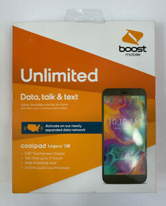 Coolpad Legacy SR Black 2GB + 16GB-Boost Mobile