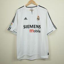 Real Madrid 2003-2004 Beckham #23 Adidas Home Football Shirt Camiseta Jersey L
