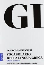 GI - Vocabolario della lingua greca: Libro + Cd-Rom