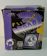 Lite F/X Psyco Strobe Hyper Action Party Strobe Light Model 1821