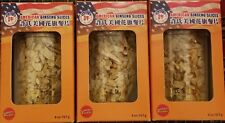 3 Jars Hsu's American Ginseng Root Cultivated Mixed Medium-Small Slices 4 oz/Jar