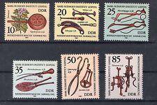 DDR 1981 Mi.Nr. 2640 - 2645 ,  Medizinhistorische Sammlung